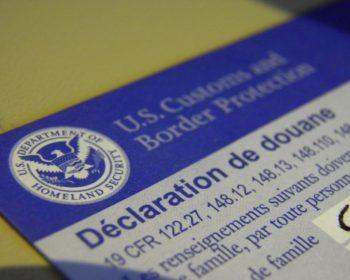 Les formalités pour aller aux Etats-Unis.