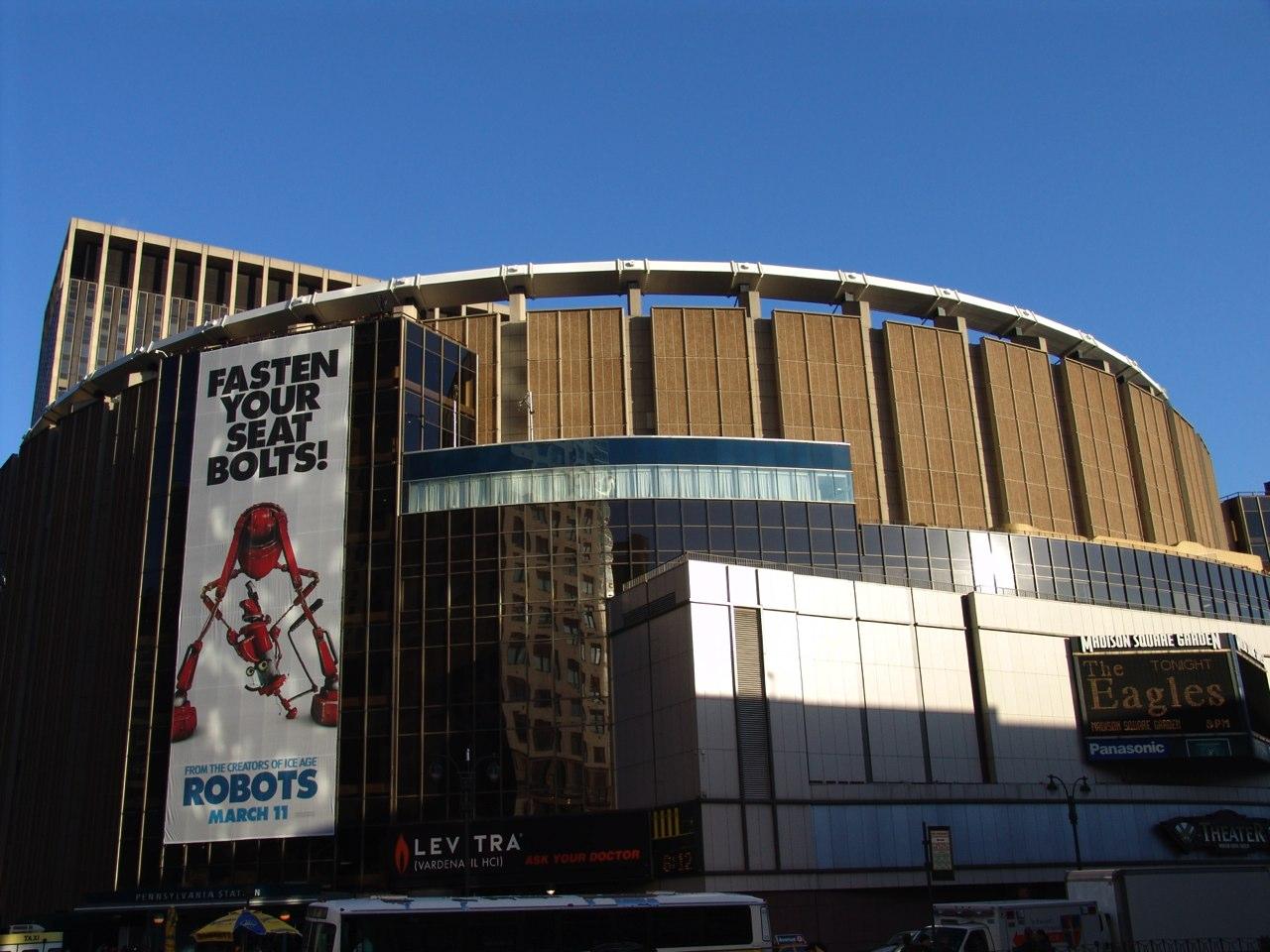 Le Madison Square Garden Tout New York