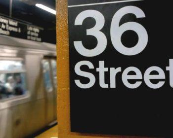 Insolite, l'escalier de métro piégé