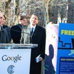 Un peu plus de wifi gratuit par Google