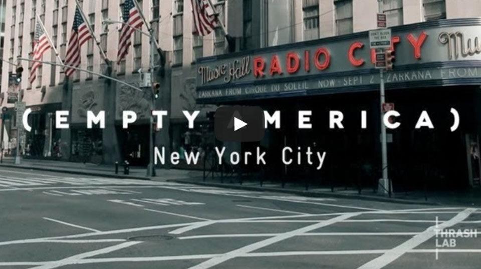Empty America New York City
