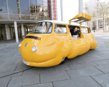 Un concept artistique, le Hot Dog Bus