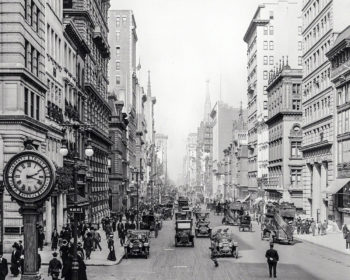 Balade à New York en 1911