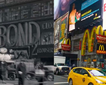 Evolution de New York 1930 vs. Now