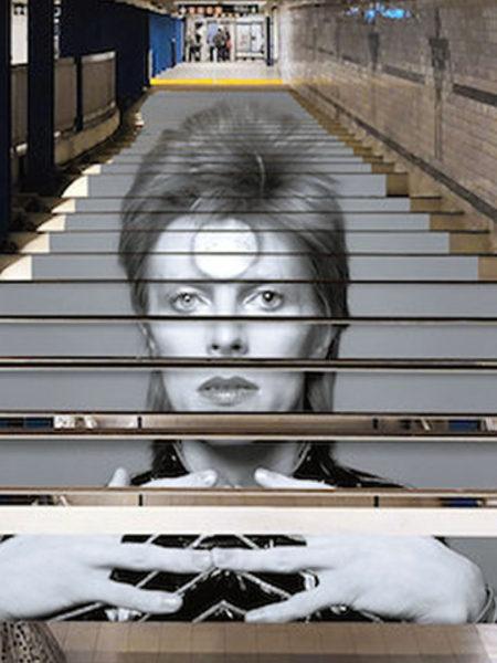 Spotify rend hommage à David Bowie